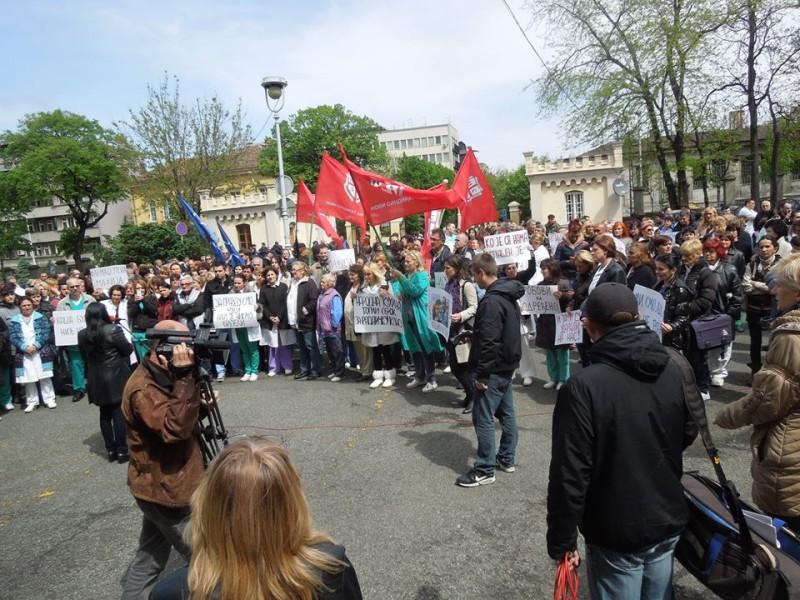 НЕОПХОДАН ЈЕ ПОТПУНИ ШТРАЈК У КЛИНИЧКОМ ЦЕНТРУ СРБИЈЕ